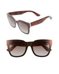 Oxydo - Brown 52mm Retro Sunglasses - Lyst