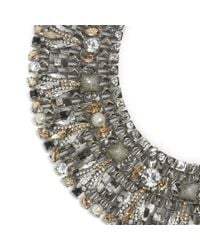 Vickisarge | Gray Speakeasy Necklace | Lyst