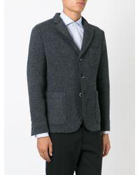 Barena - Gray Flecked Casual Blazer for Men - Lyst