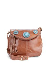 The Sak | Brown Silverlake Leather Crossbody Bag | Lyst
