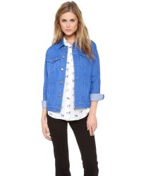 M.i.h Jeans - Blue The Boyfriend Denim Jacket - Lyst
