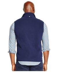 Polo Ralph Lauren - Blue Cotton Canvas Flight Jacket for Men - Lyst