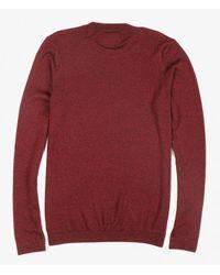 TOPMAN - Red Pullover for Men - Lyst