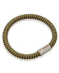 Carolina Bucci - Natural Khaki Twister Bracelet - Lyst