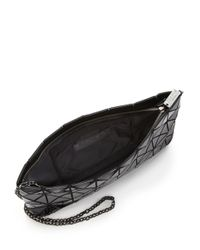 Bao Bao Issey Miyake | Black Prism Basic Faux Patent Leather Shoulder Bag | Lyst