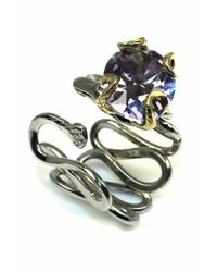 Sibilla G Jewelry - Purple Sibilla G Cool Jazz Lavender Cubic Zirconia Ring - Lyst