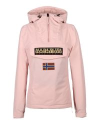 Napapijri | Pink Rainforest Winter Anorak | Lyst