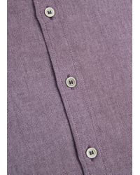 Mango | Purple Classic-fit Cotton Shirt for Men | Lyst