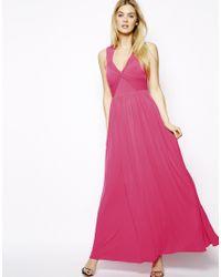 Coast - Pink Branda Maxi Dress - Lyst