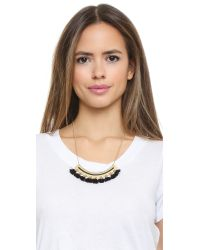 Madewell | Tassel Giza Necklace - True Black | Lyst