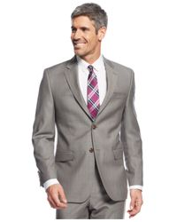 Lauren by Ralph Lauren - Brown Tan Pindot Slim-Fit Suit for Men - Lyst