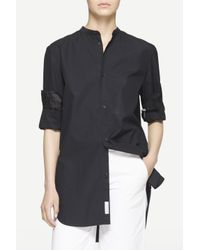 Rag & Bone | Black Mulholland Shirt | Lyst