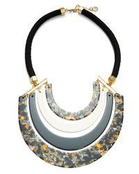 Trina Turk | Multicolor Multi-colored Crescent Bib Necklace | Lyst