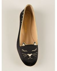 Charlotte Olympia - Black Cat Nap Set - Lyst