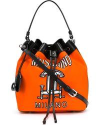 Moschino   Orange Handbag   Lyst