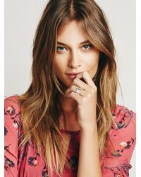 Free People - Metallic Echoes Of Culture Womens Omen Wide Ring - Lyst