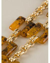 Marina Fossati - Metallic Chain Link Necklace - Lyst