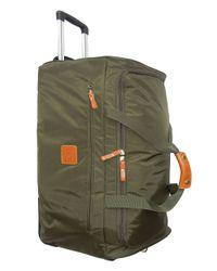 Bric's - Black 28 Inch Rolling Duffel Bag for Men - Lyst