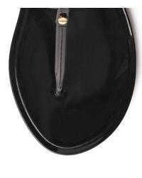 Tory Burch - Black Mini Miller Jelly Thong Sandal - Lyst