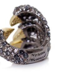 Vivienne Westwood | Black Gilda Claw Ring | Lyst