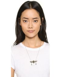 Pamela Love - Metallic Aguila Necklace - Brass - Lyst