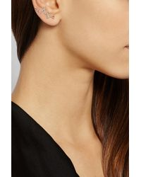 Diane Kordas | Pink Heartbeat 18-Karat Rose Gold Diamond Ear Cuff | Lyst