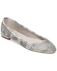 Vince Camuto - Gray Caya Flats - Lyst