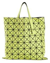 Bao Bao Issey Miyake   Yellow 'W' Geometric Tote   Lyst