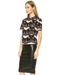 RED Valentino | Black Shirt | Lyst
