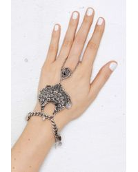 Nasty Gal   Metallic Shiva Charm Hand Piece   Lyst