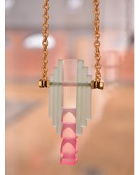 Lily Kamper - Pink Necklace - Lyst