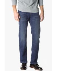 7 For All Mankind - Blue Standard Classic Straight In Western Heritage - Lyst