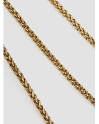 A Detacher | Metallic Lunetta Necklace Brass | Lyst
