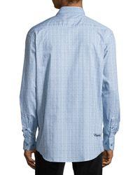 English Laundry | Blue Trim Fit Dress Shirt for Men | Lyst