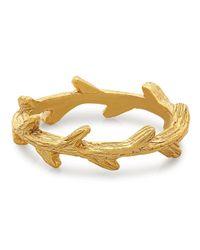 George & Laurel - Metallic El Dorado Branch Ring - Lyst