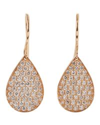 Irene Neuwirth - Pink Drop Earrings - Lyst