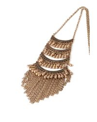 Forever 21 | Metallic -inspired Tiered Necklace | Lyst