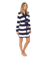 Betsey Johnson | Blue Cozy Sweater Robe | Lyst