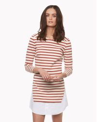 Veronica Beard | Multicolor Charter Combo Dress | Lyst