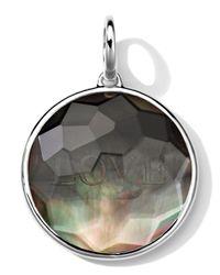 Ippolita - Black Sterling Silver Carved Intaglio Love Charm - Lyst