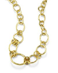 Ippolita | Metallic 18k Glamazon Revolution Link Necklace | Lyst