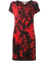 Diane von Furstenberg - Red 'alix' Dress - Lyst
