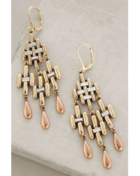 Anthropologie | Metallic Carillon Earrings | Lyst