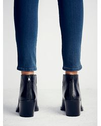 Free People | Black Lonely Mountain Ankle Boo | Lyst