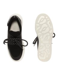 Alexander McQueen - Black Harness Sneaker - Lyst