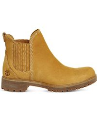 Timberland | Yellow Lyonsdale Leather Chelsea Boots | Lyst
