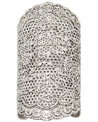 Aurelie Bidermann | Metallic Lace Cuff | Lyst