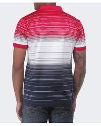 BOSS Green | Gray Paddy Stripe Polo Shirt for Men | Lyst