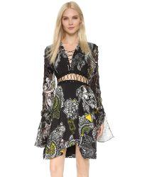 Preen By Thornton Bregazzi - Multicolor Taylor Dress - Henna Khaki - Lyst