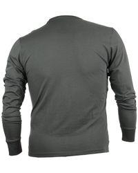 47 Brand - Gray Men's Long-sleeve Los Angeles Lakers Flanker T-shirt for Men - Lyst
